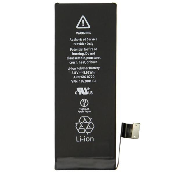 باتری گوشی آیفون 5 اس اورجینال با ظرفیت 1560mA