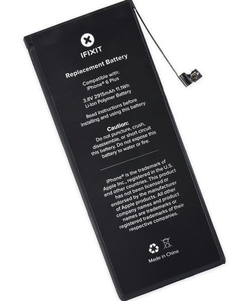 باتری گوشی آیفون 6 پلاس اورجینال با ظرفیت 2915mA