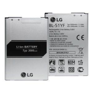 باتری گوشی ال جی جی 4 مدل BL-51YF اورجینال