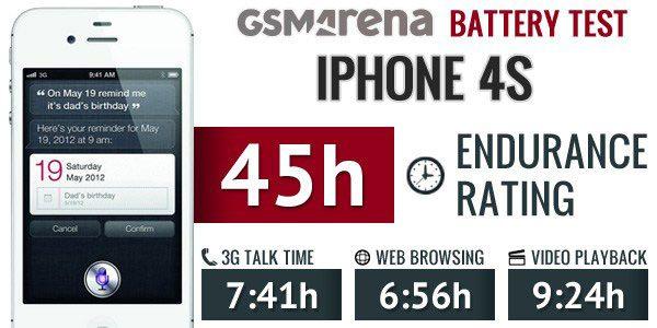 تست باتری آیفون iphone 4s