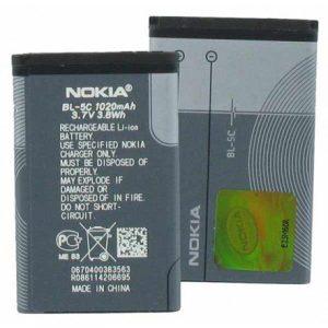 قیمت | خرید باتری ( باطری ) اصلی گوشی نوکیا - NOKIA مدل BL-5C