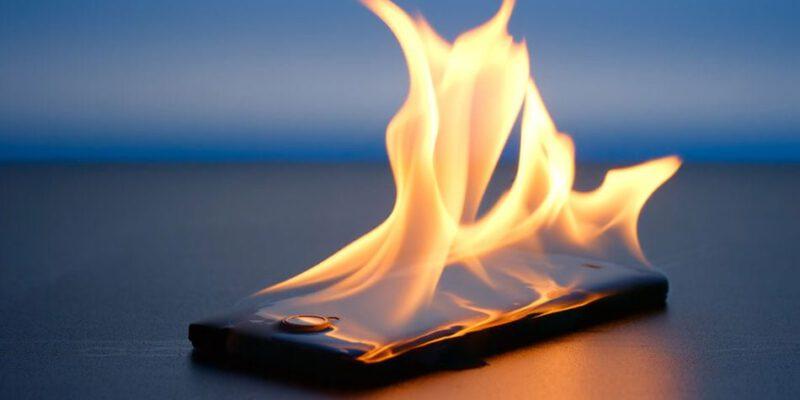 چرا گوشی موبایل داغ می شود