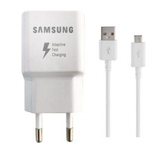 شارژر فست سامسونگ s7,s7edge همراه کابل Micro USB_اصلی