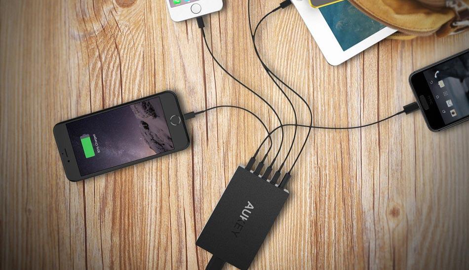 انواع شارژر موبایل