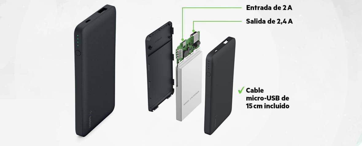 پاوربانک 5000 میلی آمپری Belkin Pocket Power