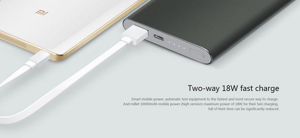 پاوربانک 10000 میلی آمپری Xiaomi