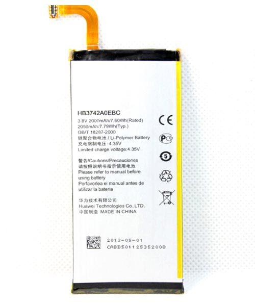 قیمت | خرید باتری اصلی گوشی هواوی Huawei Ascend P6 مدل HB3742A0EBC