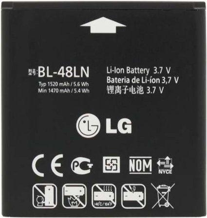 باتری اورجینال گوشی ال جی اپتیموس battery lg Q bl-48ln