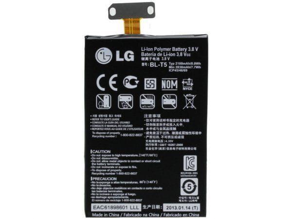 باتری گوشی ال جی E960 مدل BL-T5