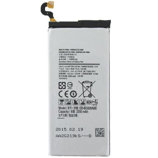 قیمت خرید باتری (باطری) گوشی سامسونگ گلکسی اس 6 - Galaxy S6 G9200 , G9208 , G920A , G920F , G920FD , G920I
