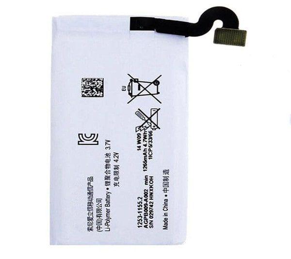 قیمت خرید باتری (باطری) گوشی سونی اکسپریا گو Sony xperia go مدل mt27i | mt27