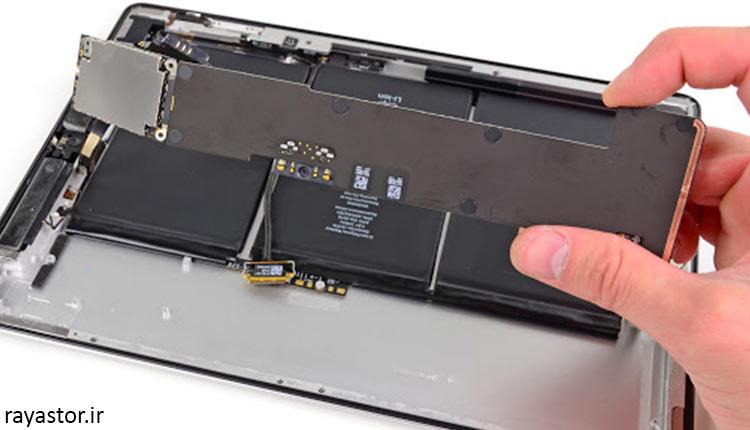 کیفیت و عملکرد باتری تبلت آیپد 1