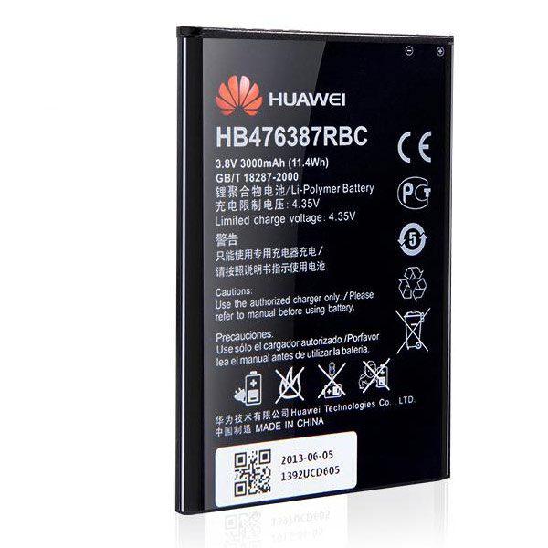 قیمت | خرید باتری ( باطری ) اصلی گوشی هواوی هانر 3 ایکس - Huawei Honor 3x مدل HB476387RBC