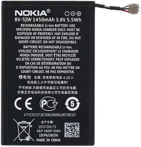 قیمت | خرید باتری ( باطری ) اصلی گوشی نوکیا لومیا ان 9 - Nokia Lumia N9 مدل BV-5JW