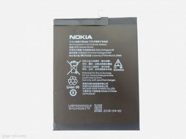 قیمت | خرید باتری ( باطری ) اصلی گوشی نوکیا 7 پلاس- Nokia 7 Plus مدل HE346