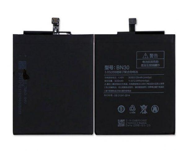 قیمت | خرید باتری ( باطری ) اصلی گوشی شیائومی ردمی 4 ای - Xiaomi Redmi 4A مدل BN30