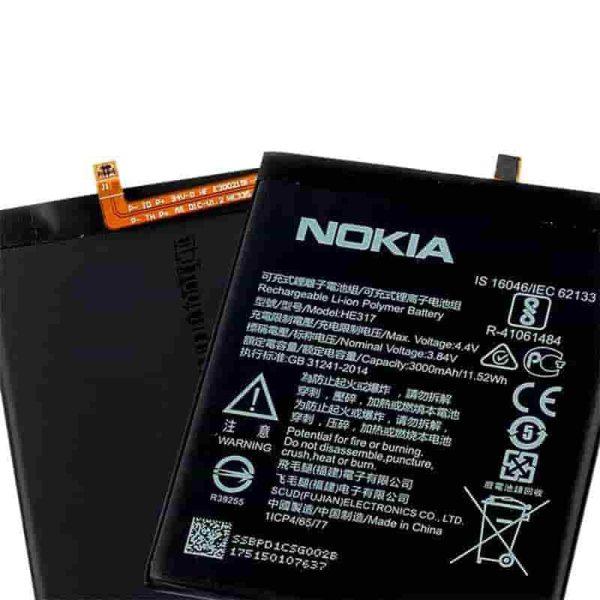 قیمت | خرید باتری ( باطری ) اصلی گوشی نوکیا 6 - Nokia 6 مدل HE317