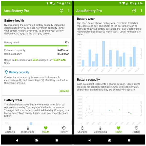 نرم افزار تست سلامت باتری گوشی موبایل