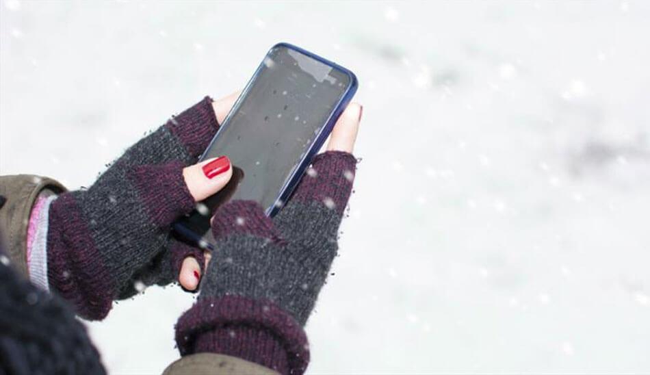 سرما از عوامل کاهش عمر باتری میباشد