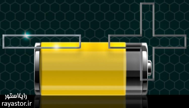 ساختار داخلی باتری موبایل