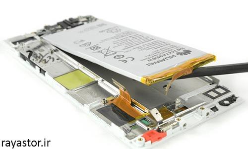 مرحله نهم تعویض باتری هواوی