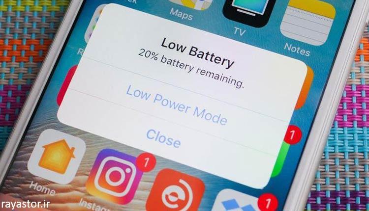 دلایل خراب شدن باتری موبایل