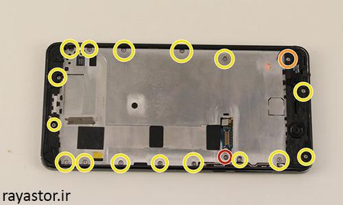 مرحله 9 تعویض باتری نوکیا