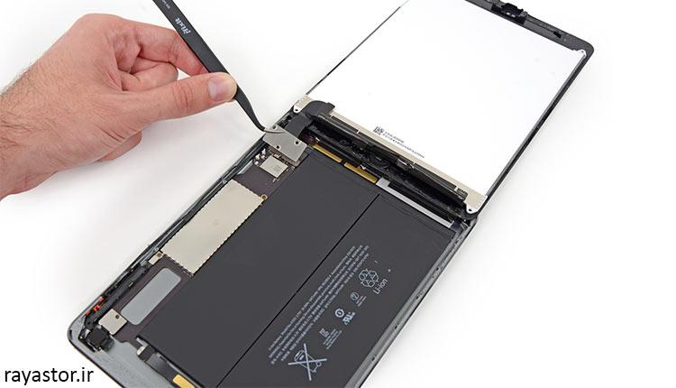 عملکرد و کیفیت باتری ipad 3