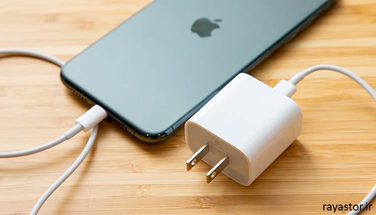 خراب بودن شارژر موبایل