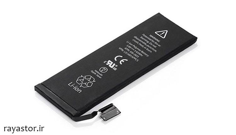 مشخصات باتری آیفون 5c