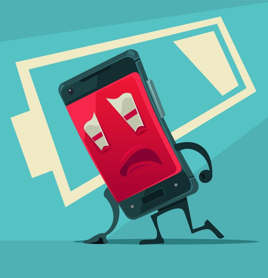 عوامل خرابی باتری گوشی موبایل