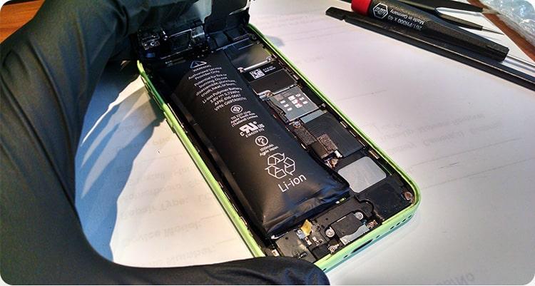 چرا باتری موبایل باد می کند ؟