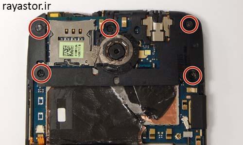 تعویض باتری اچ تی سی مرحله 3