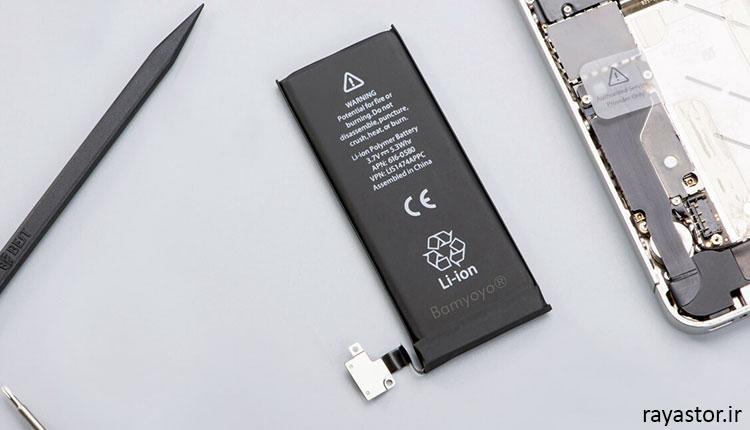 کیفیت و کارایی باطری ایفون 4s