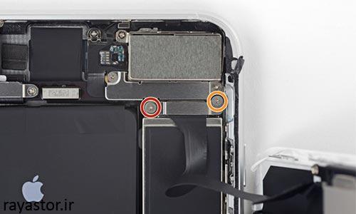 تعویض باتری آیفون 8 پلاس مرحله 6