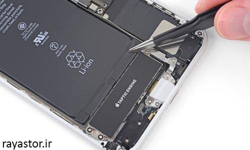 تعویض باتری آیفون 8 پلاس مرحله 7