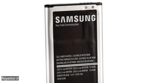 تشخیص باتری اصل از غیر اصل سامسونگ نوت 4 از روی کیفیت چاپ