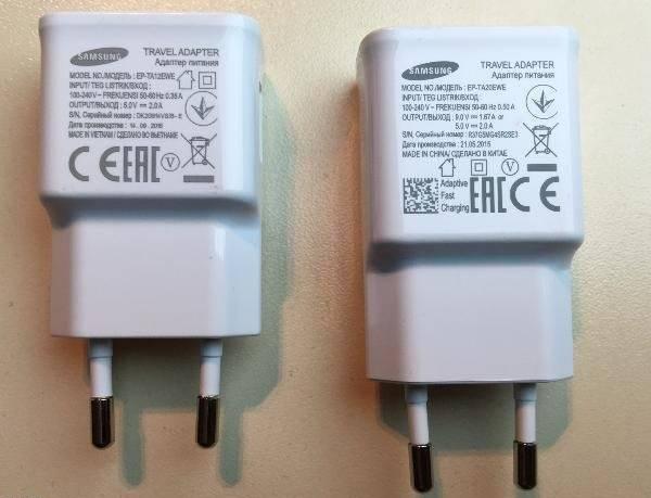 تشخیص شارژر اصلی از شارژر تقلبی از روی نوشته باتری