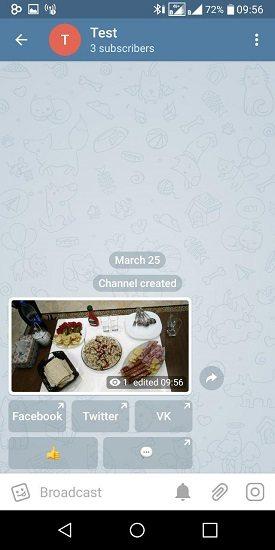 آموزش ارسال کامنت در تلگرام با افزونه AnyComBot