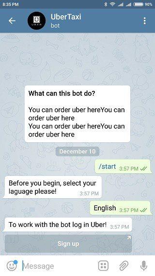 بهترین ربات های تلگرام : ربات WelixUberBot