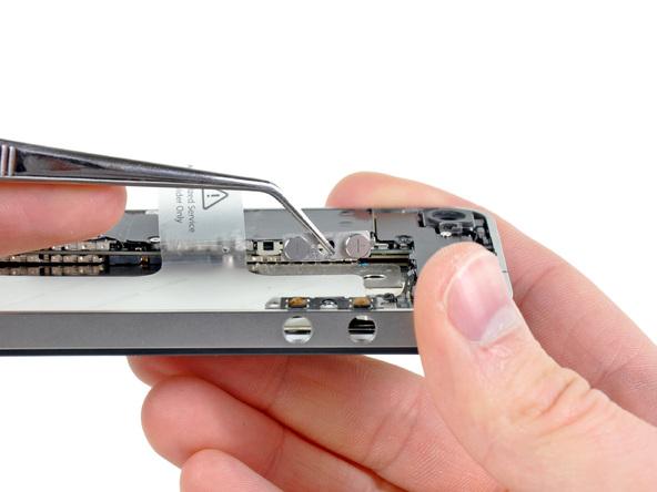 آموزش تعویض دکمه ولوم آیفون 4 اپل