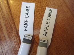 تشخیص شارژر اصل و تقلبی اپل