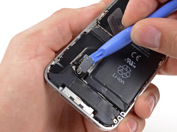آموزش تعویض دکمه سایلنت (بی صدا) آیفون 4 اپل