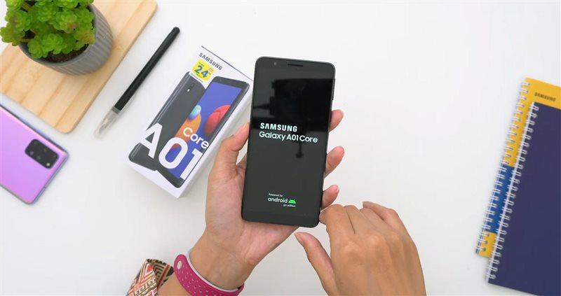 بهترین گوشی موبایل سامسونگ از سری A | گلکسی A01 Core