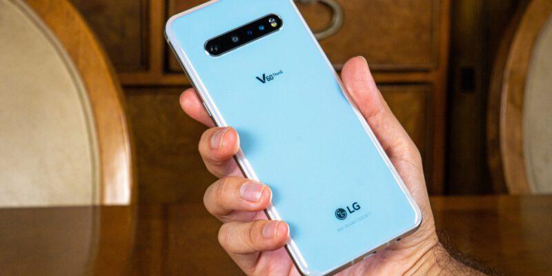 گوشی ال جی V60 ThinQ 5G UW شرکت Verizon به روزرسانی اندروید 11 را دریافت می کند
