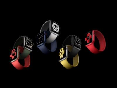 اپل واچ سری 6 - ساعت هوشمند اپل - Apple Watch Series 6
