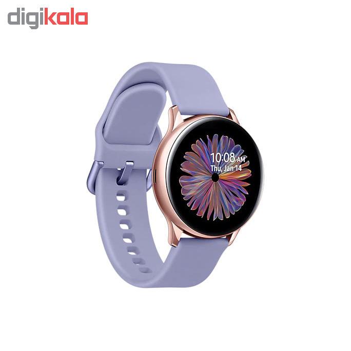 راهنمای خرید ساعت هوشمند سامسونگ مدل Galaxy Watch Active2 40mm Lilac Band