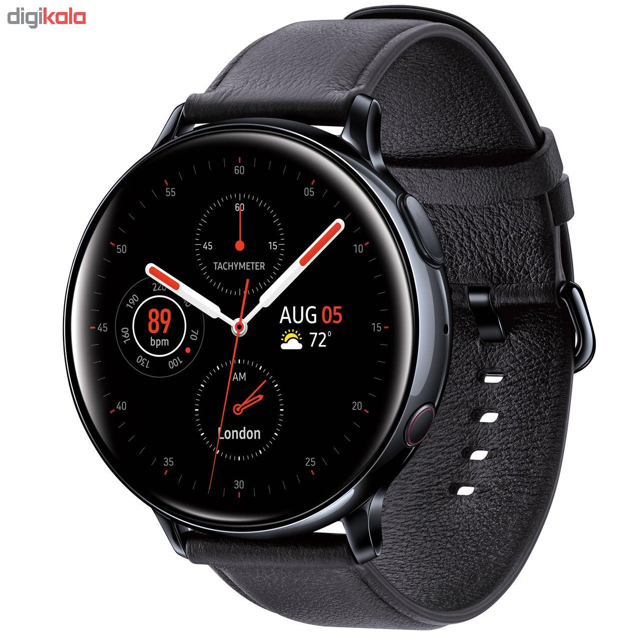 راهنمای خرید ساعت هوشمند سامسونگ مدل Galaxy Watch Active2 44mm Leatherband Smart