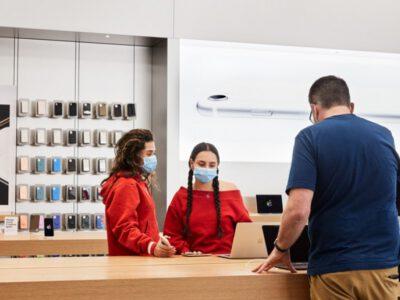 بازگشایی تمام فروشگاه های اپل بعد از یکسال