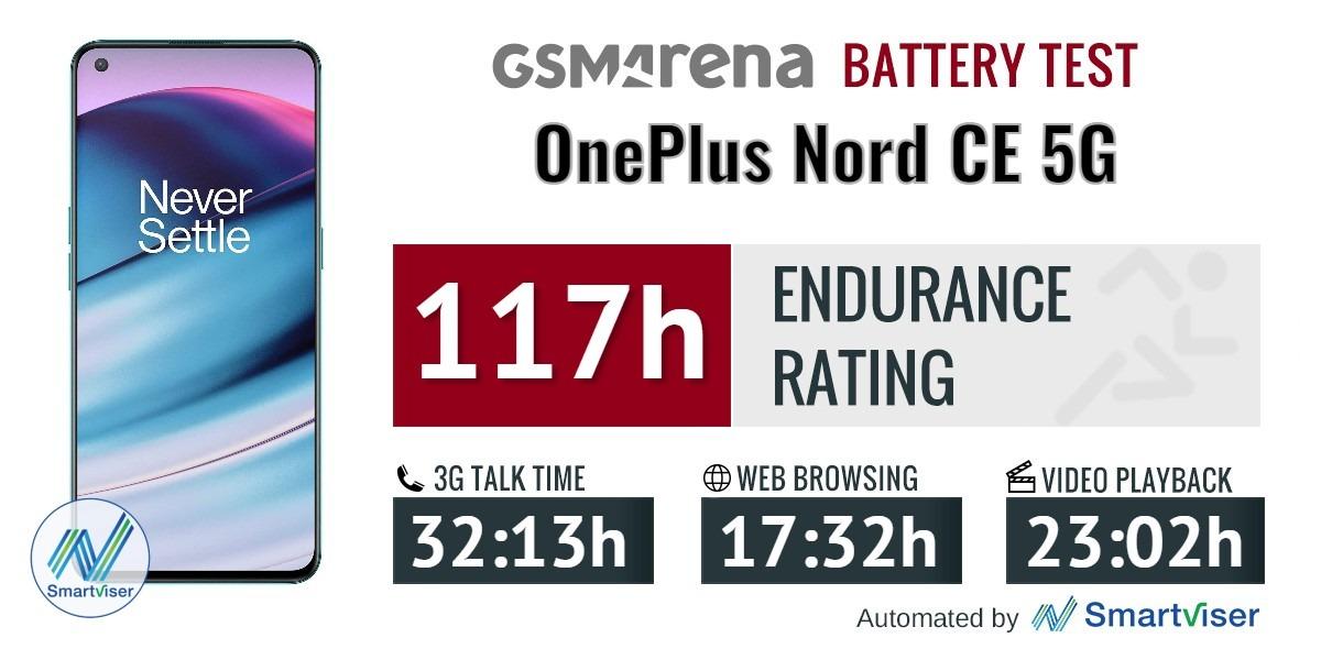 بررسی باتری OnePlus Nord CE 5G